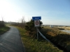 De Molenweg richting dorp Nes